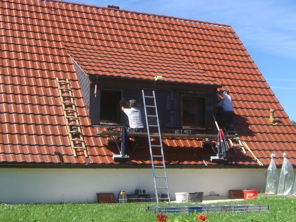 Meisterdach online Reparatur an einer Gaube