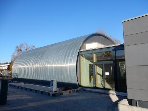 Meisterdach online Tonnendach Institut für Holztechnik