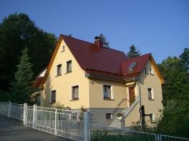 Meisterdach online Biberschwanzeindeckung Einfamilienhaus in Nedaschütz