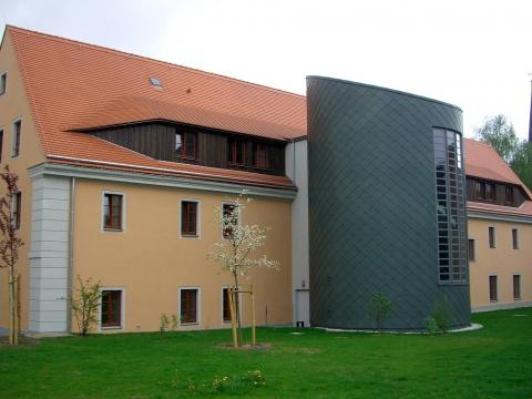 Meisterdach online Titanzinkfassade in Rautendeckung vorbewittert schiefergrau